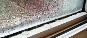 filtracion agua ventanas